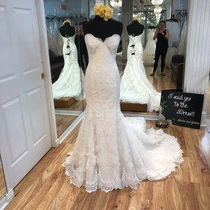 Maggie Sottero Cadence wedding gown